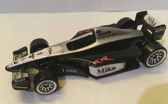 Mini 1/64 Hotwheels F1 Mclaren Mercedes Mp4/14 Hakkinen 1999