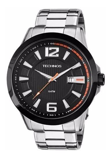 Relógio Technos Masculino Esporte Aço 2115knv/1p