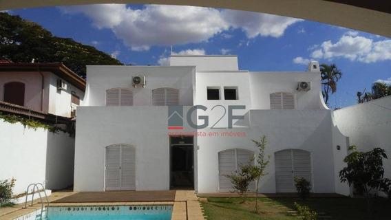 Casa Para Alugar 12 Salas Por R$ 15.000/mês - Nova Campinas - Campinas/sp - Ca4554