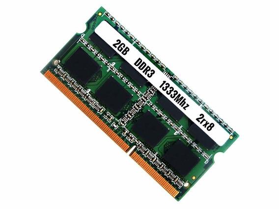 Kit 40pçs Memoria Notebook 2gb Ddr3 1333mhz *original