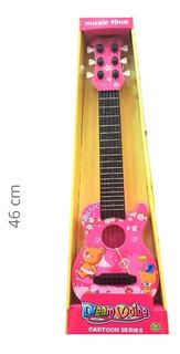 Guitarra Infantil De 6 Cuerdas De 46cm Juguete Niño Niña