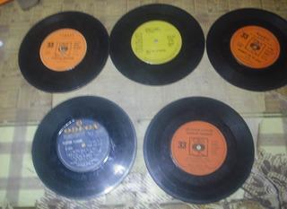 Lote N° 11 Discos Simples 33 Rpm Años 60 Y 70 Ritmos Varios