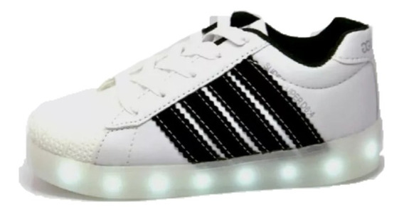 Tenis Infantil Luces Led