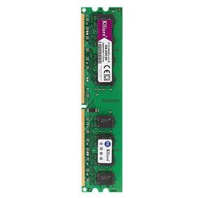 Memória Ddr2 8gb 2x4 Pc2-6400u P/ Amd Não Funciona P/ Intel