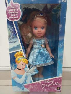 Boneca Minha Princesa Real Cinderela Disney 30cm 6500 Mimo