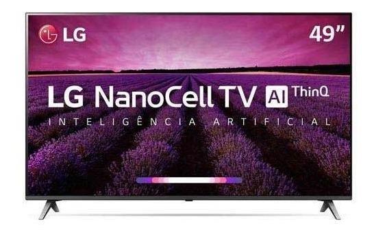Smarttv 4k Lg 49 Nanocell Ai 4k Hdr Dolby 49sm8000psa