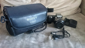Câmera Sony Nex5n Semi-nova - Europeia (ñ Nex5r Nex5t Nex5)