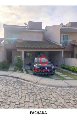 Casa Duplex Com 3 Quartos Sendo 1 Suíte À Venda, 230 M² Por R$ 630.000 - Novo Cavaleiro - Macaé/rj - Ca2194