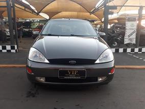 Focus Ghia Com Teto Solar Impecavel