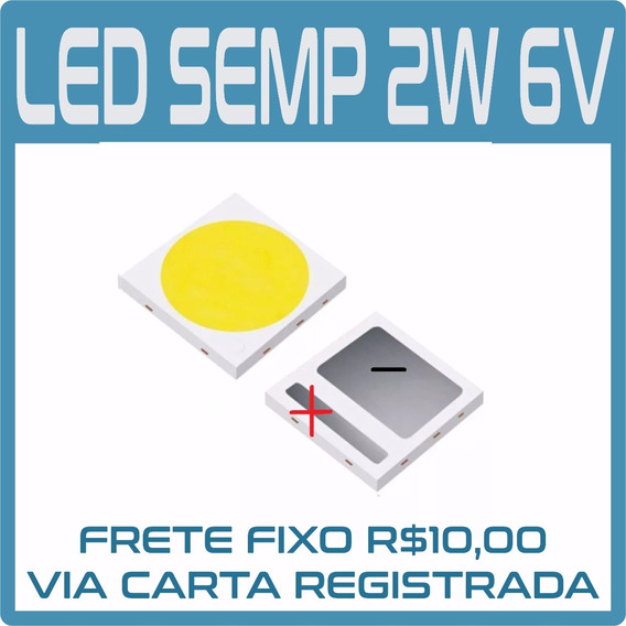 Kit 20 Led Konka 3030 1.8w 6v Semp Toshiba, Sti, Philco,