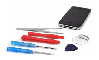 Kit Ferramentas 7 Chaves Abrir iPhone 4 5 6 6s iPad Samsung