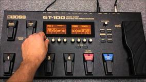 5500 Patches E Efeitos Para A Pedaleira Boss Gt-100
