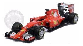 Miniatura Ferrari Formula 1 Sf-15t Nº 5 Vettel Burago 1/24