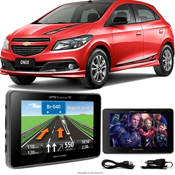 Gps Automotivo Gm Onix Tela 4.3 Voz Tv Digital Fm Oferta