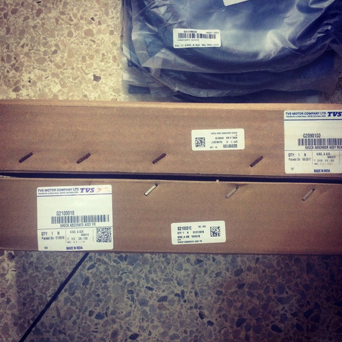 Amortiguador Delantero Tvs Para Tricimoto / Mototaxi