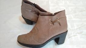 Botas Botinetas Zapatos De Mujer Bota Corta Cierre - Palermo