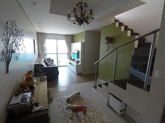 Cobertura Com 3 Dormitórios À Venda, 157 M² Por R$ 910.000,00 - Tatuapé - São Paulo/sp - Co0289