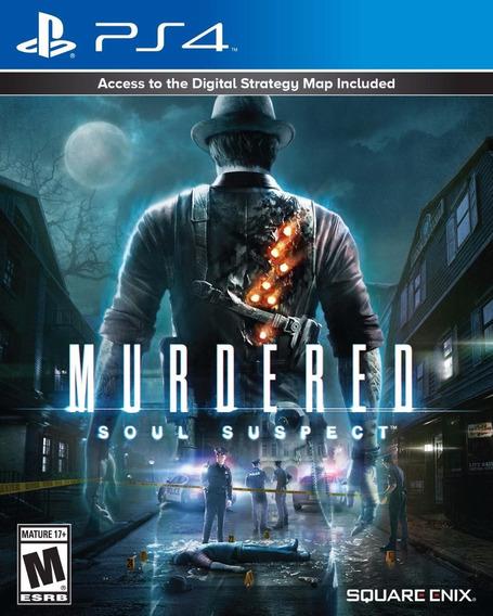 Murdered Soul Suspect Ps4 Novo Lacrado Midia Fisica