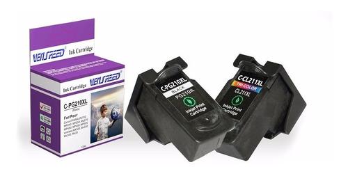 Combo Cartuchos Compatible Canon Xl Pg-210 Y Cl-211