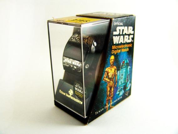 Reloj Led Texas Instruments Star Wars 1977 Seminuevo Complet