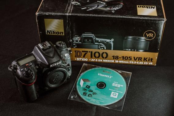 Câmera Nikon D7100 Dslr - Baixei Pra Vender - Migrando