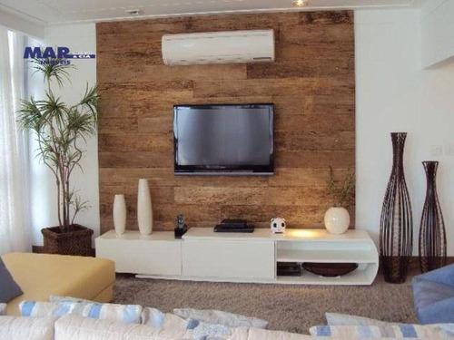 Imagem 1 de 17 de Apartamento Residencial À Venda, Centro, Guarujá - . - Ap6263