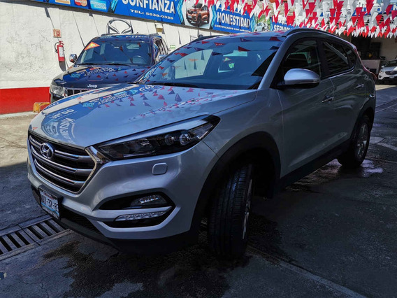 2017 Hyundai Tucson Limited 2.0l Aut 6vel Plata