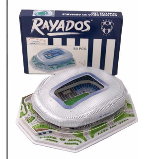 Rompecabezas 3d Estadio Bbva, Rayados De Monterrey