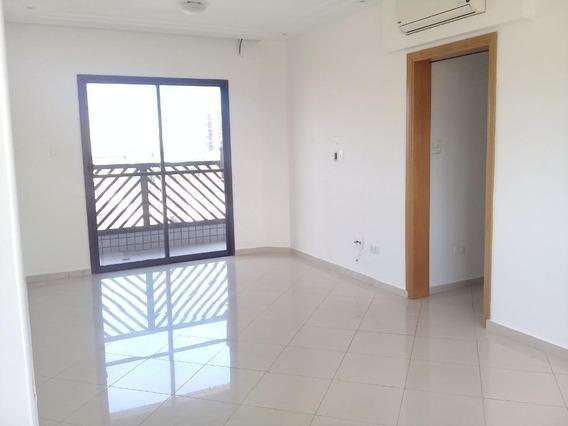 Apartamento Com 2 Dormitórios Para Alugar, 88 M² Por R$ 2.500/mês - Campo Grande - Santos/sp - Ap4404