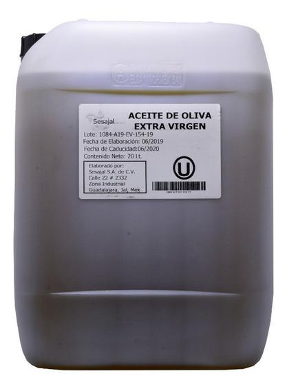 Aceite De Oliva Extra Virgen 20 Litros Marca Ines