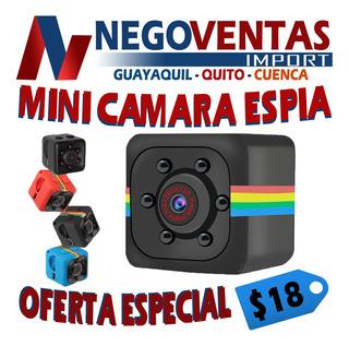 Mini Camara Espia Full Hd Vision Nocturna Super Discreta