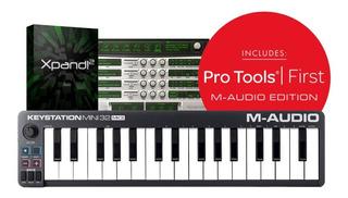 Controlador Midi M-audio Mini 32 Keys Mk3 Profesional