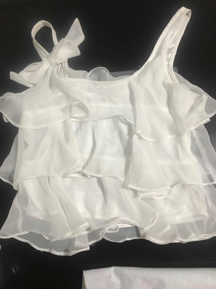 Musculosa Blanca Talle S