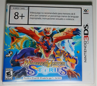 Monster Hunter Stories Nuevo Y Sellado