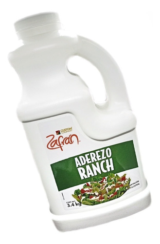 Aderezo Ranch Marca Zafran 3.4 Kilos