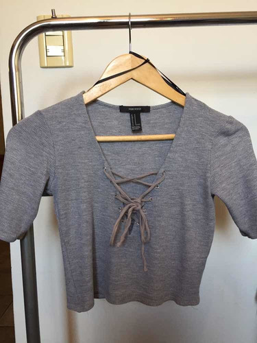 Forever 21 Top Gris