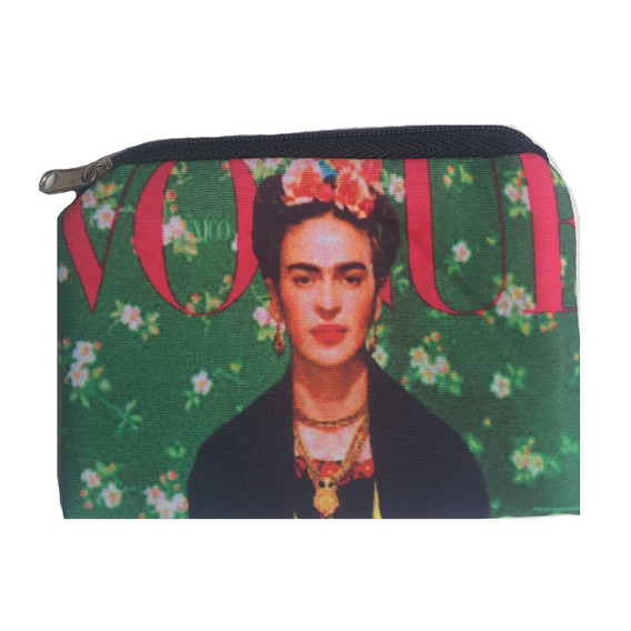 Monedero De Neoprene Estampado Frida Kahlo