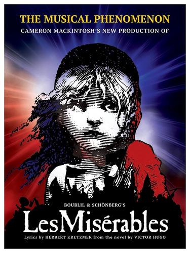 Poster Do Musical Les Miserables