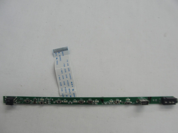 Placa Teclado Funçao/sensor Bdt-70002 Pca Dd620/630 Philco