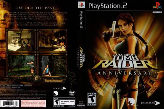 Lara Croft Tomb Raider Anniversary - Ps2 -