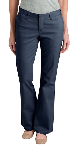 Dickies Fp121 Pantalón Stretch Semi Acampanado Mujer 2 A 16