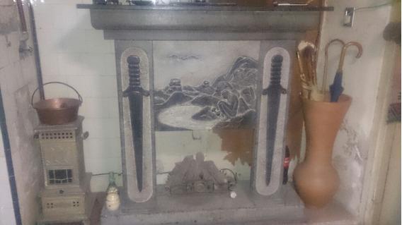Hogar Tallado A Mano En Piedra Jabon Artista Brasileño