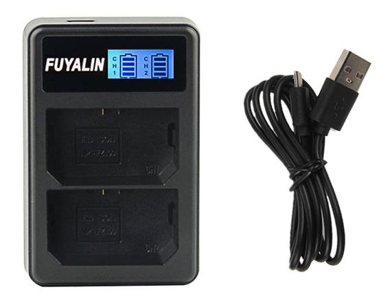 Lcd Usb Dual Bateria Carregador Para Sony Np -fz100 Ilce-9 A