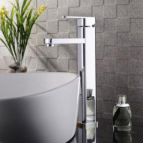 2x Torneira Banheiro Monocomando Lavabo Bica Alta Absolute