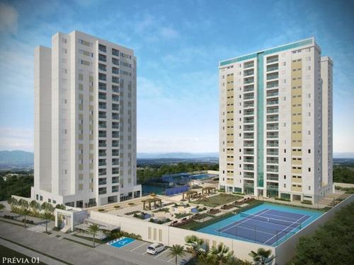 Apartamento Com 3 Dormitórios À Venda, 125 M² Por R$ 774.000 - Residencial Soleil De Québec - Sorocaba/sp, Próximo Ao Shopping Iguatemi. - Ap0137 - 67639957