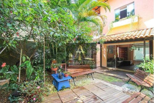 Imagem 1 de 26 de Excelente Casa À Venda No Jardim Leonor, São Paulo. Com 4 Dorms, 4 Vagas, Gourmet E Lindo Jardim! - Ca2559