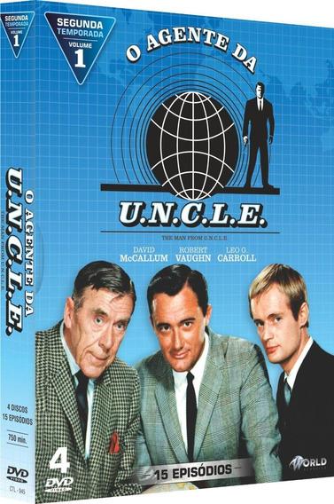 O Agente Da U.n.c.l.e 15 Episódios 4 Discos