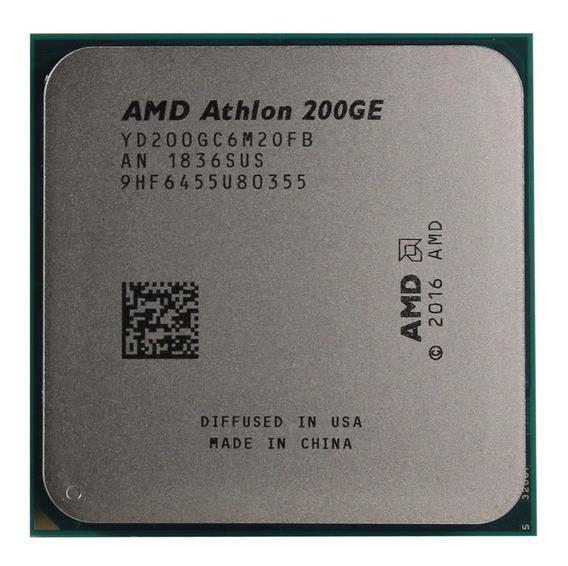 Processador Am4 Athlon 200ge Dual Core 3.2ghz Amd Novo Oem