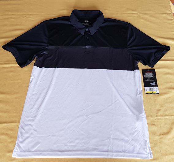Camisa Polo Oakley Horizon Polo Forged Iron Talla Mediana
