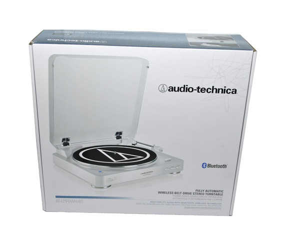 Toca Discos Stereo Bluetooth Audio Technica At-lp60xbt-wh